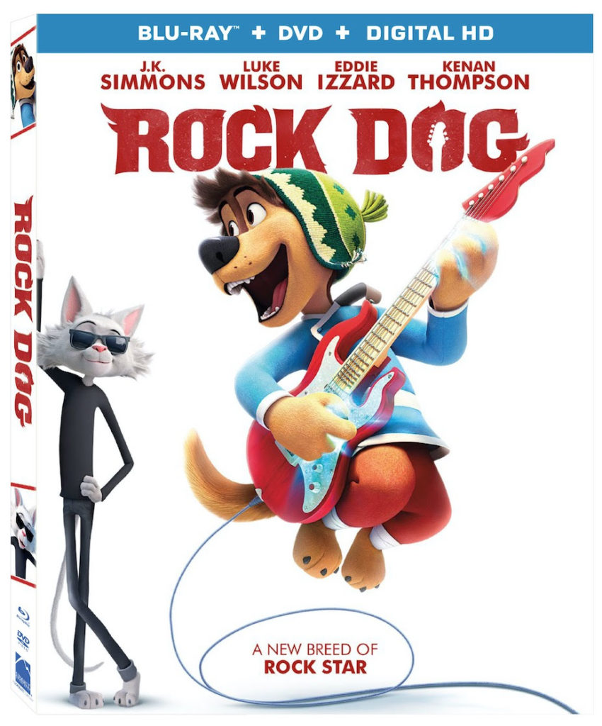 Rock Dog DVD