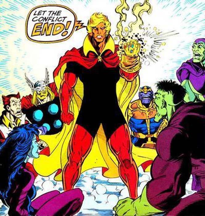 adam warlock joins the Marvel Cinematic Universe (MCU)