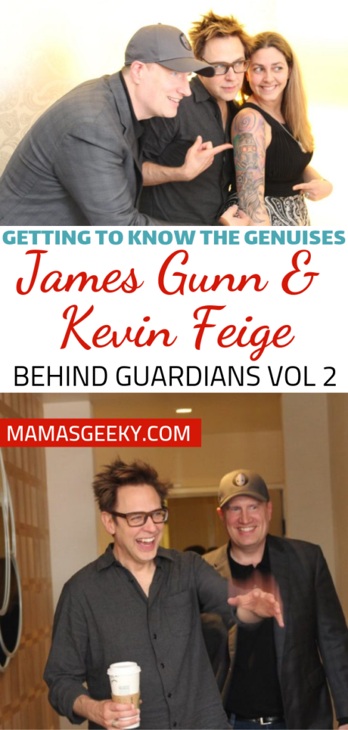 james gunn kevin feige guardians of the galaxy