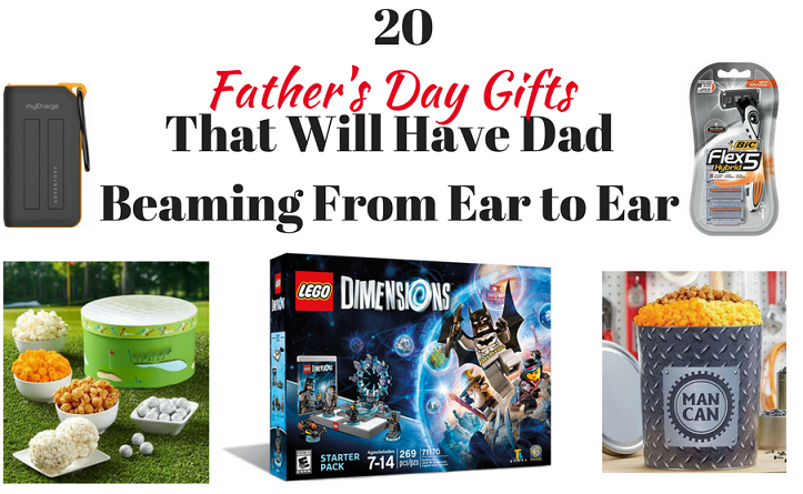 20 Father's Day Gifts That Will Have Dad Beaming From Ear to Ear