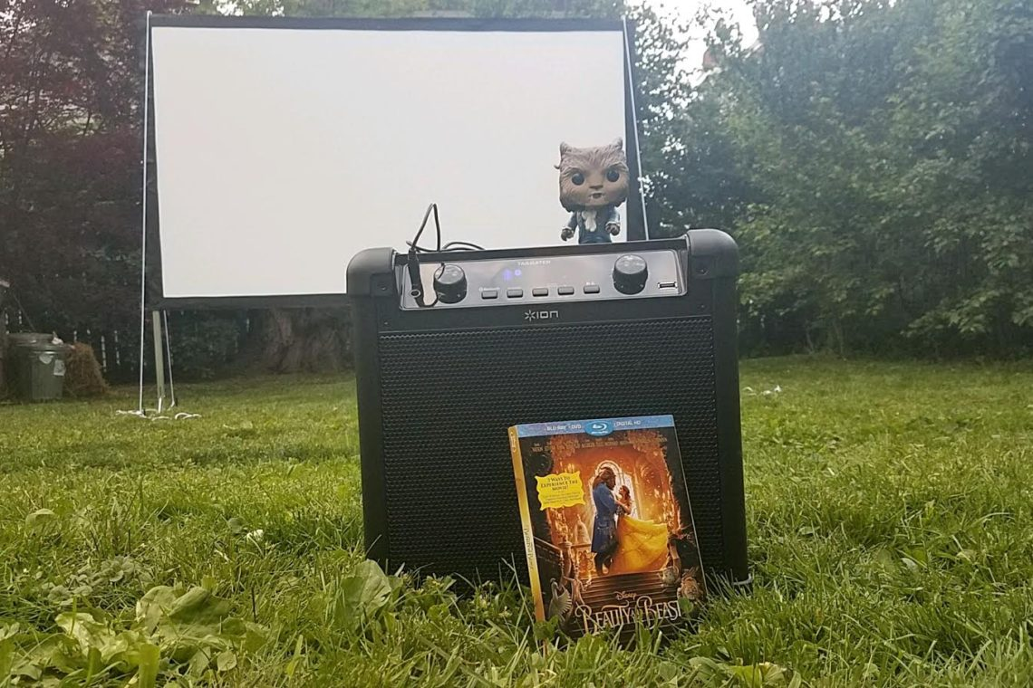 Beauty and the Beast Under the Stars Movie Night