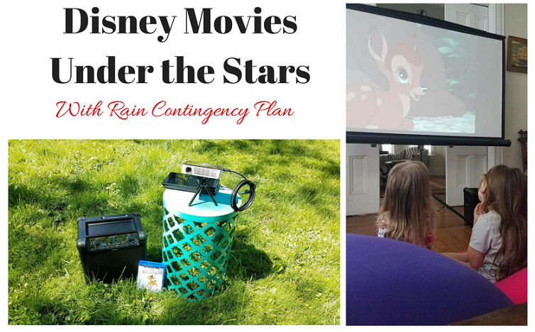 Disney Movies Under the Stars