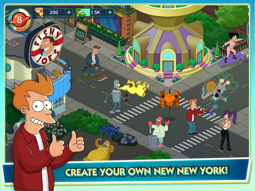 Futurama Worlds of Tomorrow Screenshot