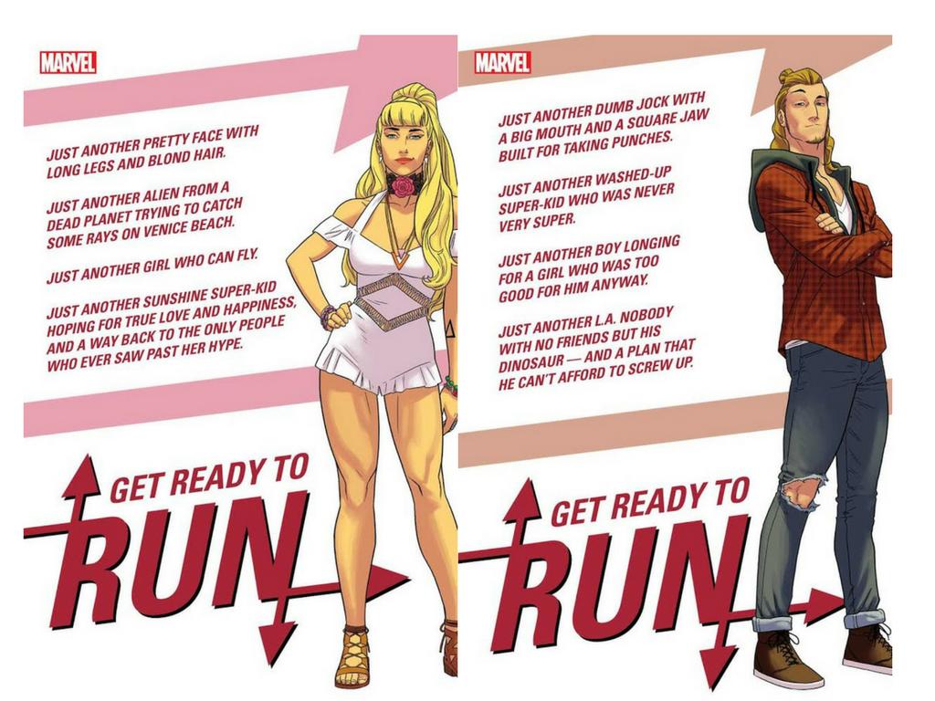 Karolina & Chase Marvel Runaways