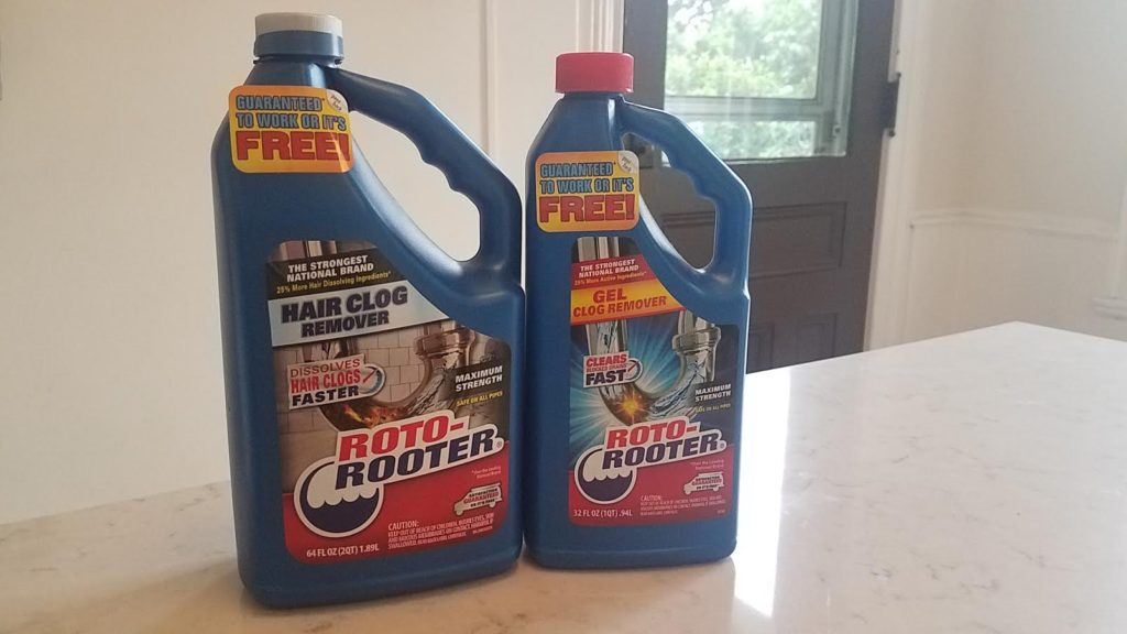 Roto-Rooter Products at Home