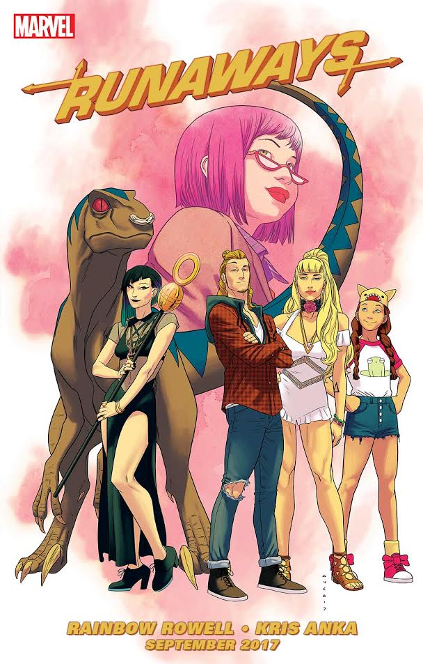 Marvel Comics Runaways cover