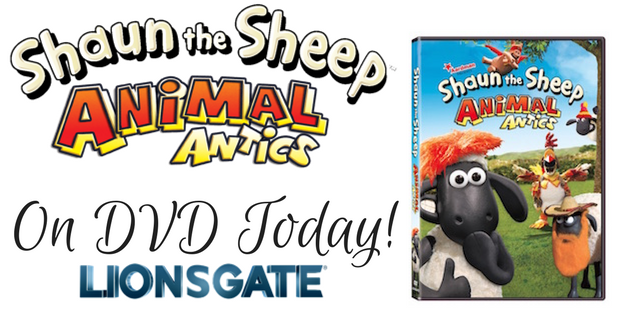 Shaun the Sheep On DVD Today!