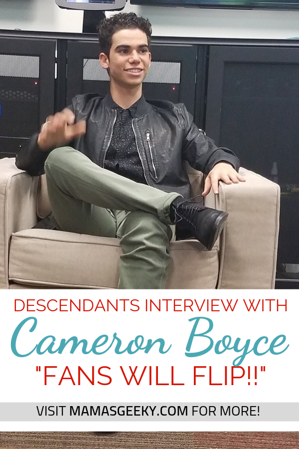 Cameron Boyce Descendants interview