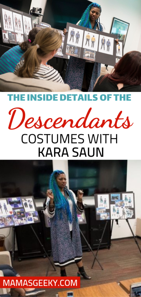 Descendants Kara Saun