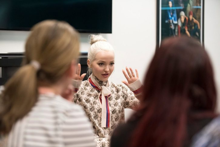 Dove Cameron Interview Descendants 2