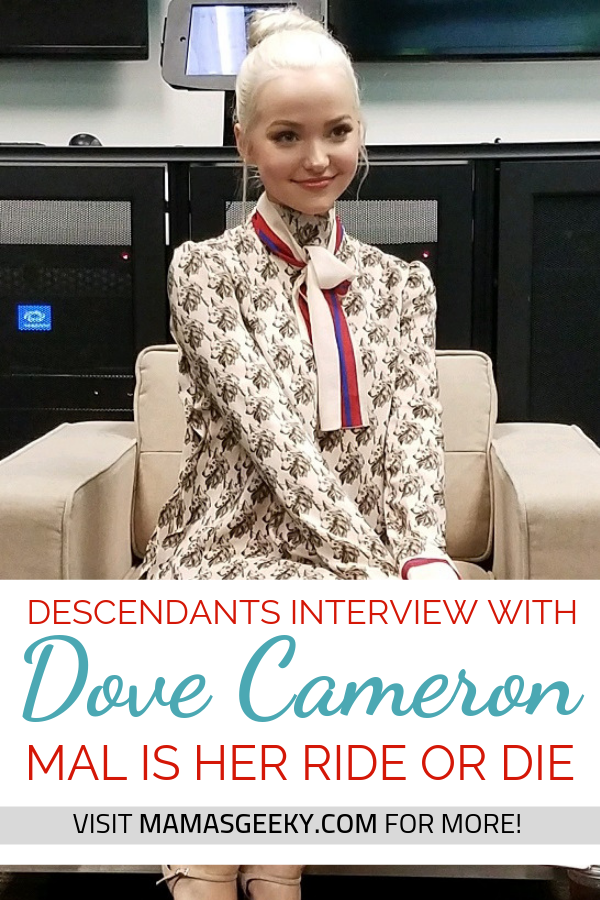 Dover Cameron Descendants interview