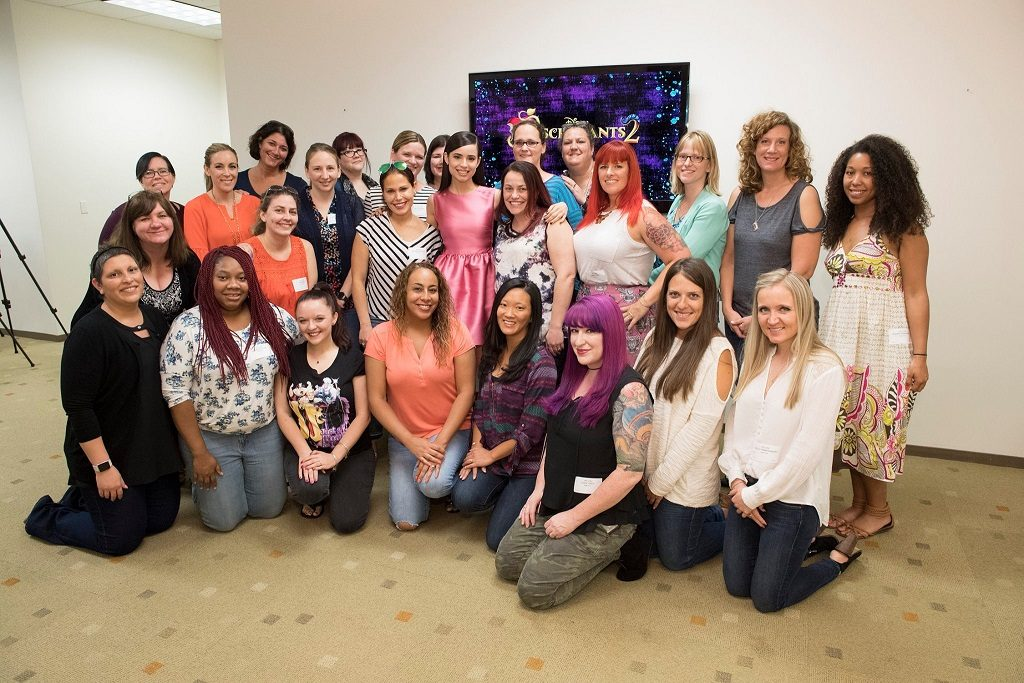 Sofia Carson with Bloggers Descendants 2