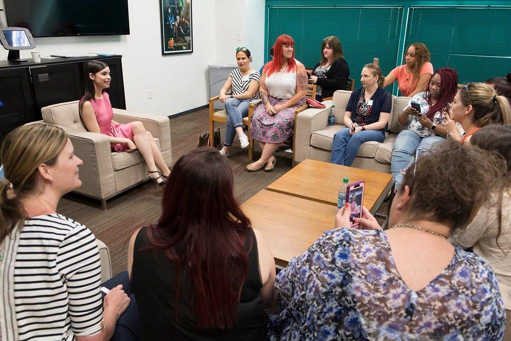 Sofia Carson Interview Descendants 2