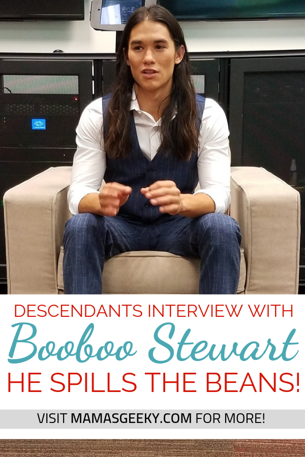 booboo stewart descendants 2 interview