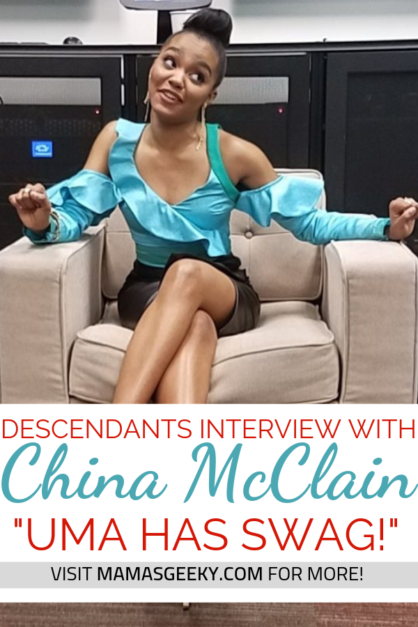china mcclain descendants interview
