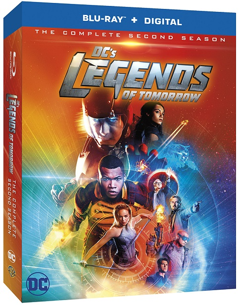 DC's Legends of Tomorrow S 2 on BluRay