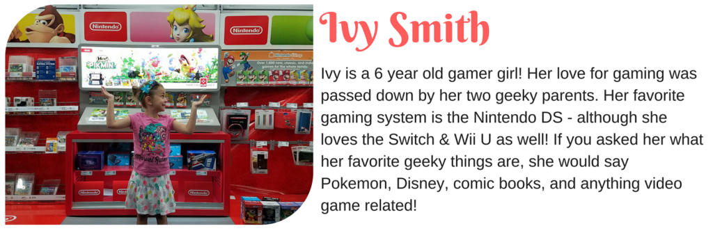 Ivy Smith - Mama's Geeky Kid Blogger