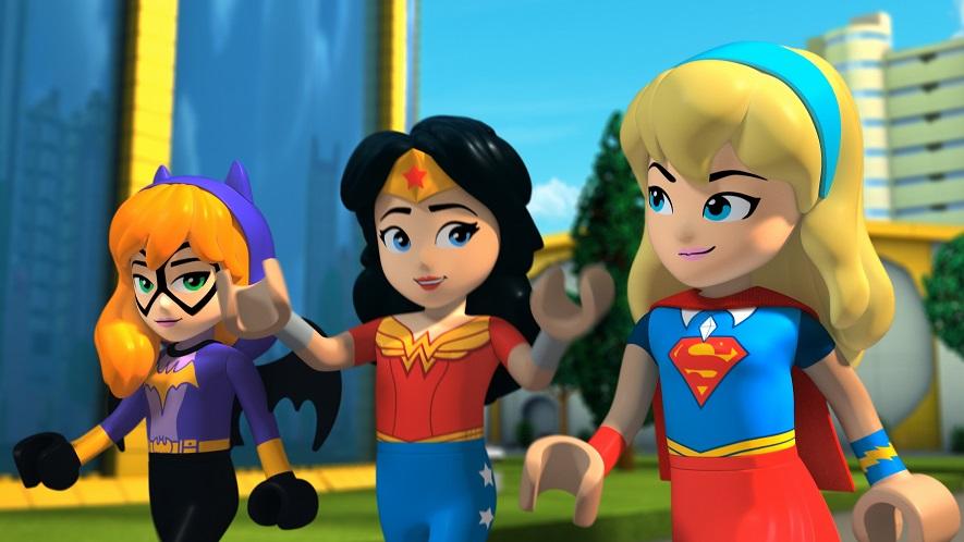LEGO Super Hero Girl Brain Drain