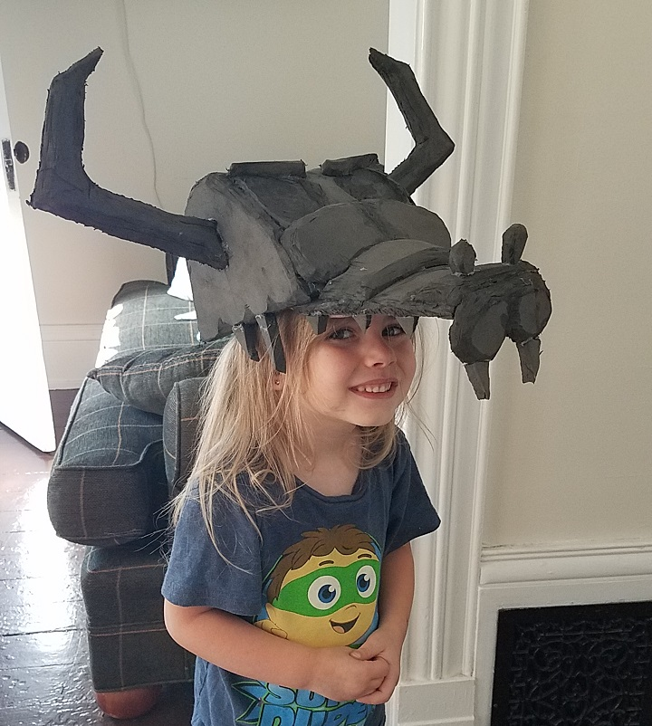 Ludo Skull Hat Costume Star Vs. The Forces Of Evil