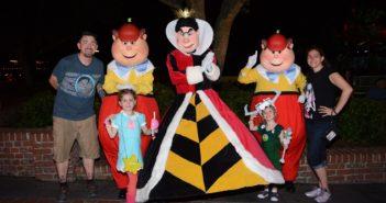 MNSSHP Queen of Hearts Tweedle Dee and Dum