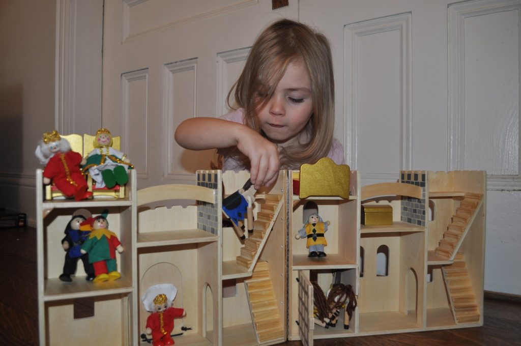 Melissa and Doug Castle Playset