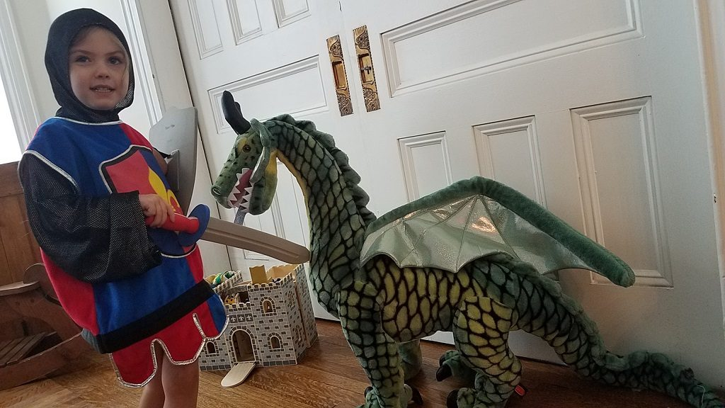 Melissa and Doug Dragon Knight Fight