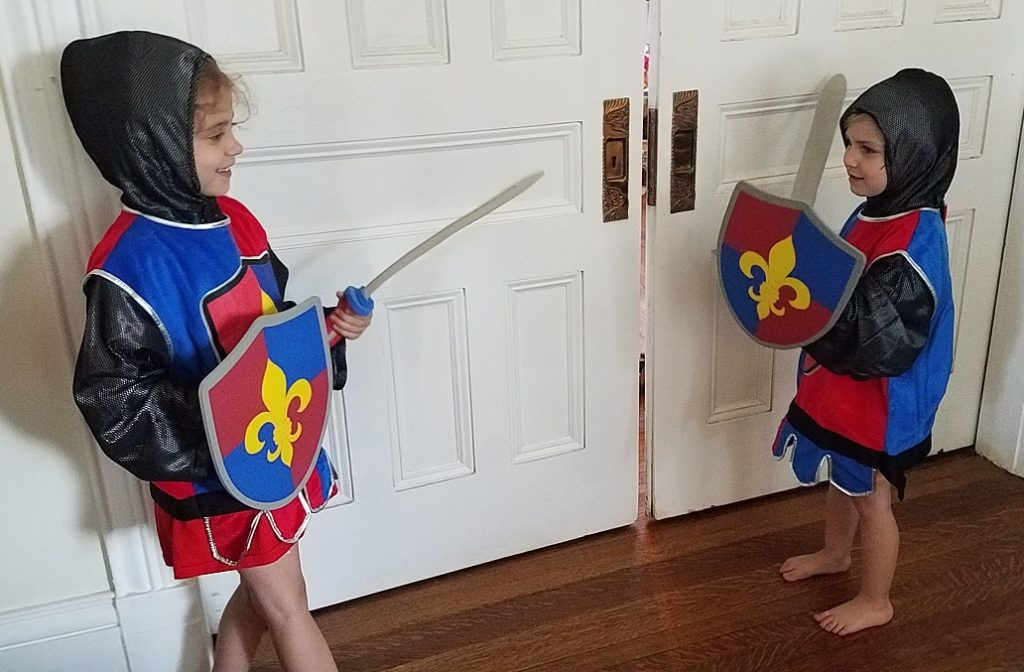Melissa and Doug Knight Costumes