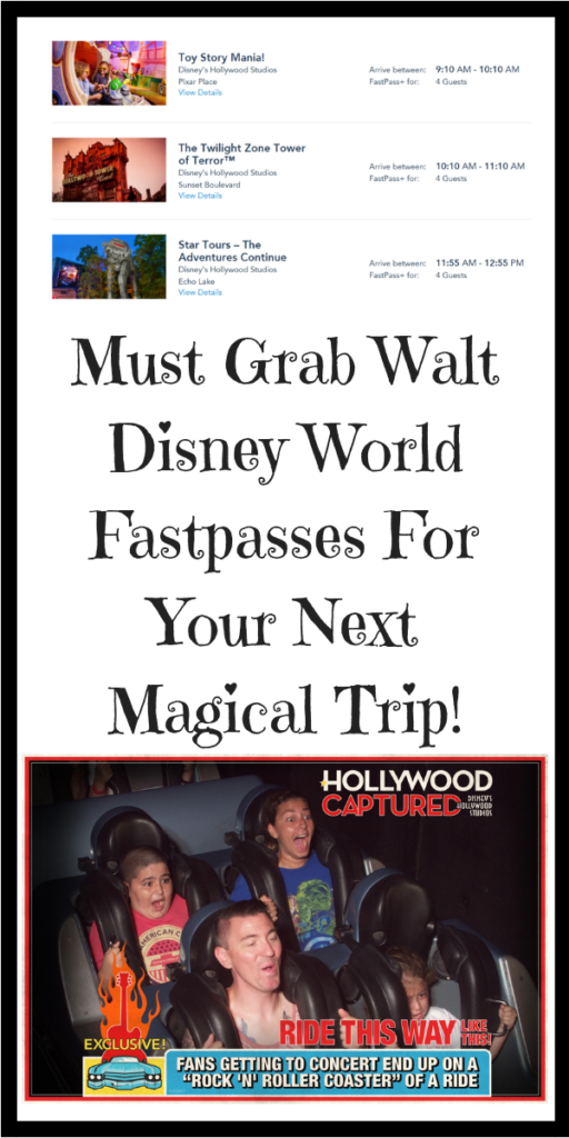Must Grab Walt Disney World Fastpasses For Your Next Magical Trip