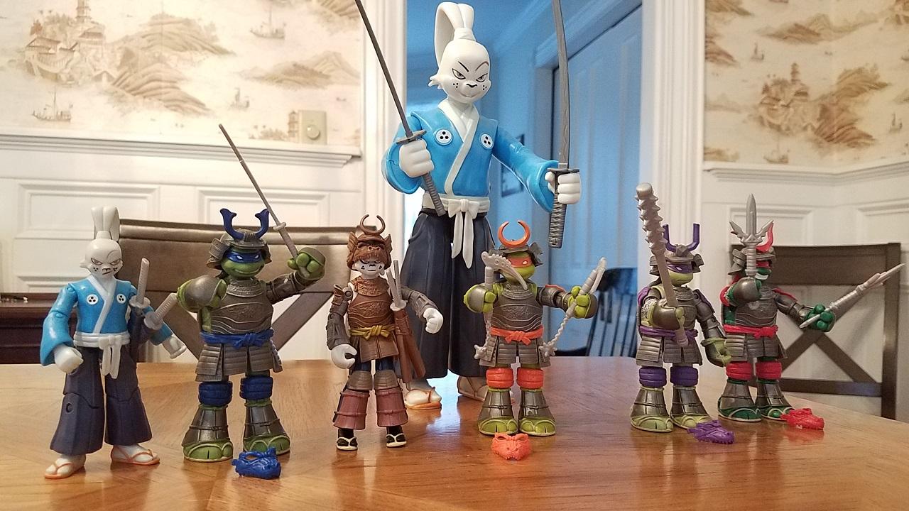 Playmates Toys TMNT Usagi Yojimbo