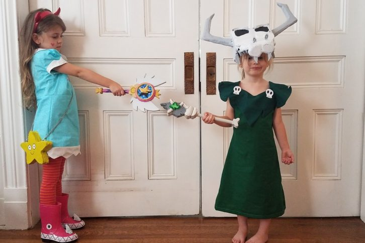 Star Butterfly and Ludo Kids Cosplay Star Vs. The Forces of Evil (1)