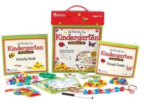 all ready for kindergarten
