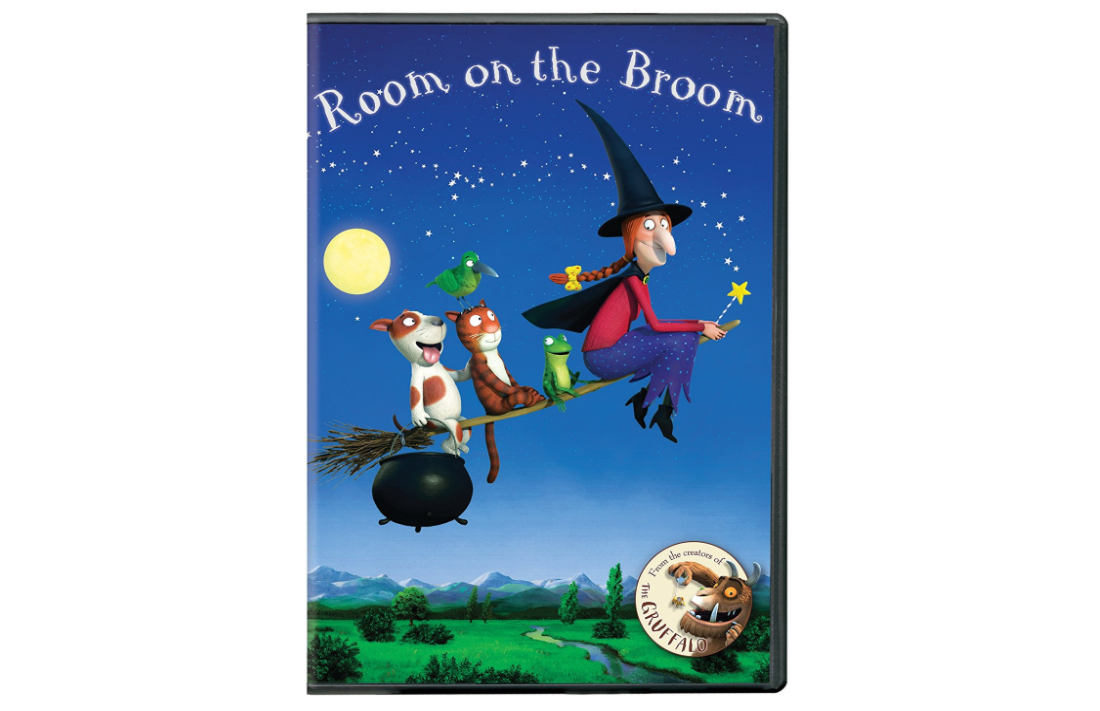 room on the broom dvd cover