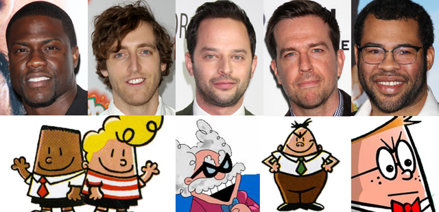 Captain Underpants Cast