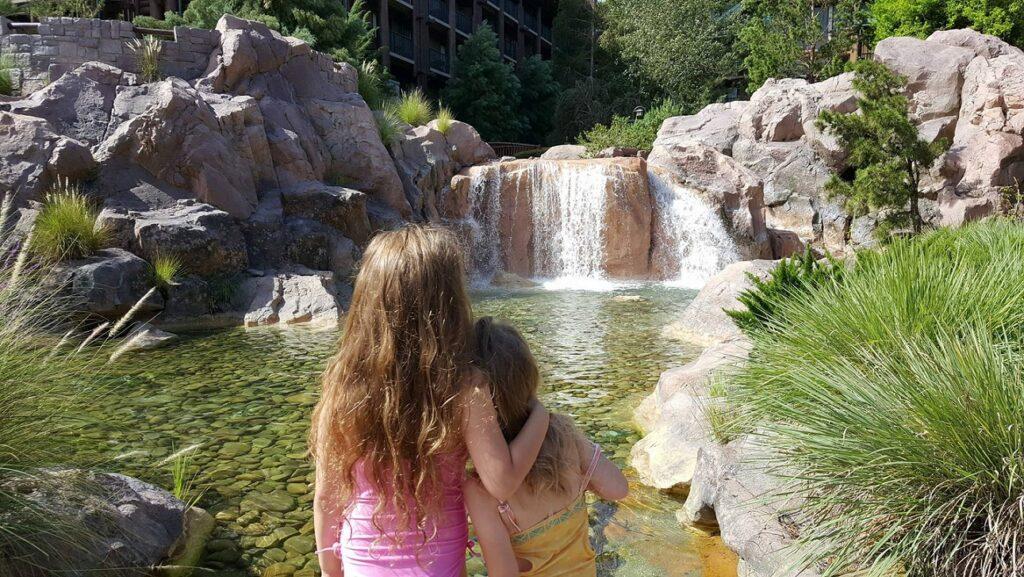 Copper Creek Falls Sisters