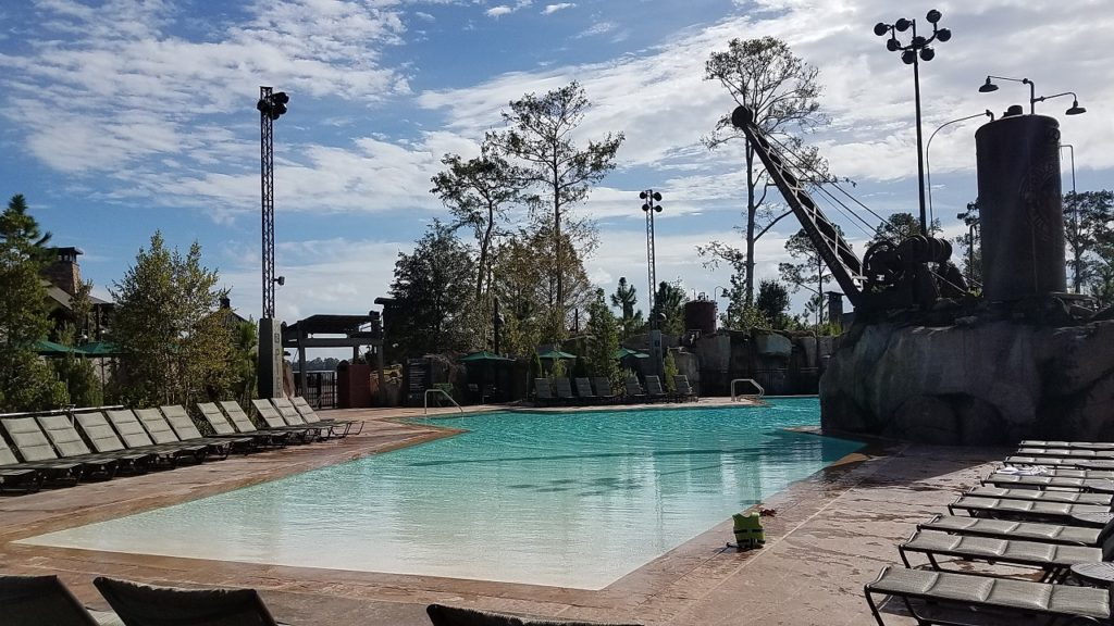 DVC Pool at Copper Creek Villas Disney