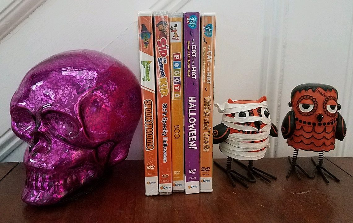 NCircle Halloween DVDs