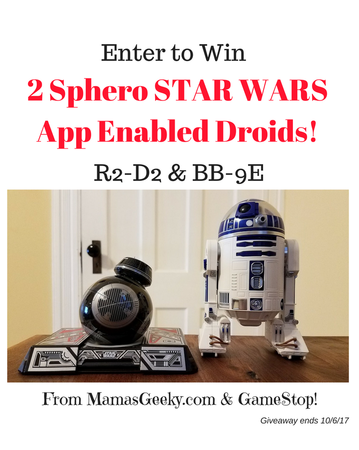 Sphero Star Wars Giveaway