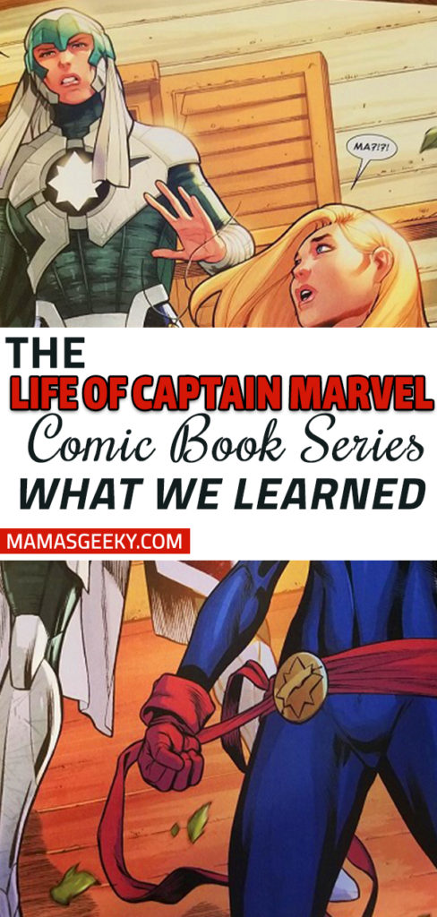 life of captain marvel comic book series