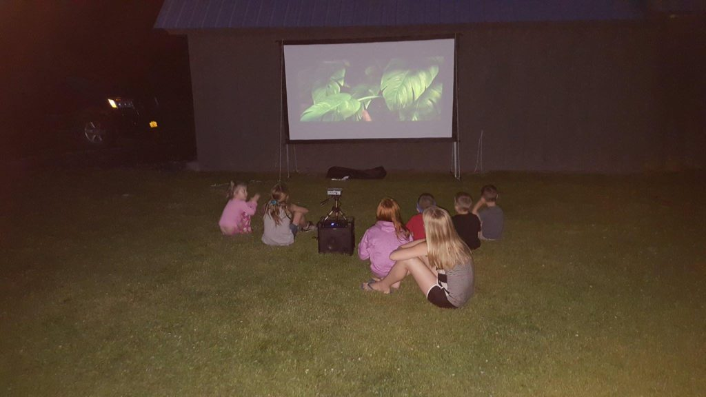 moana movie night