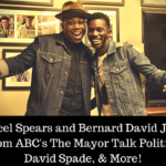 Bernard David Jones and Marcel Spears From ABC's The Mayor Talk Politics, David Spade, & More! | #ThorRagnarokEvent
