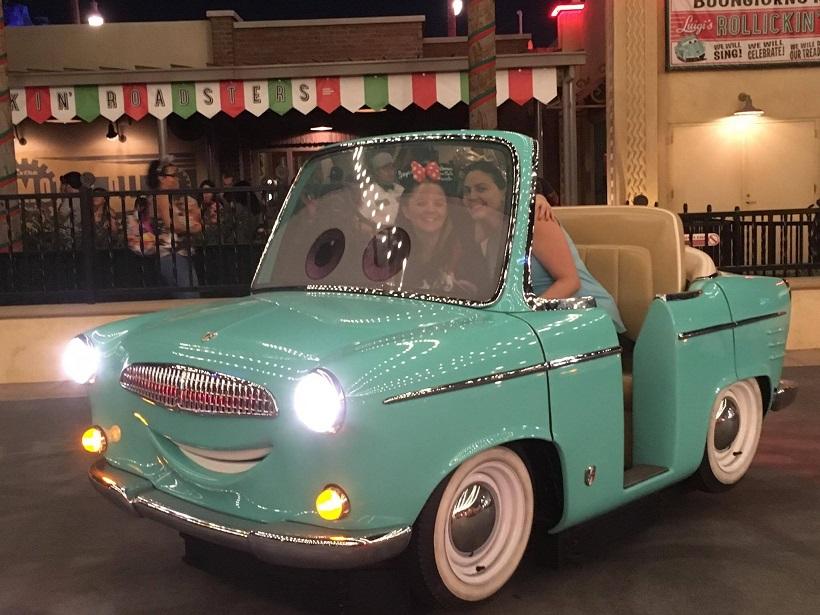 Cars Land Haul-o-Ween Disneyland