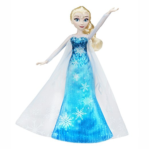 Frozen Play-a-Melody Doll