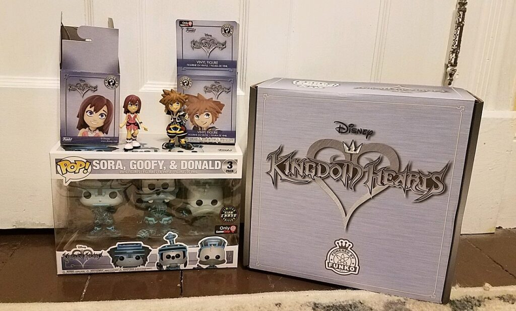 GameStop Exclusive Kingdom Hearts Funko Box