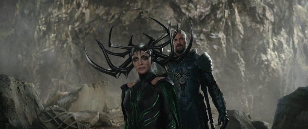 Hela and Skurge Thor Ragnarok