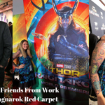 I Ran Into Some Friends From Work on the Thor: Ragnarok Red Carpet – James Gunn & Kevin Feige