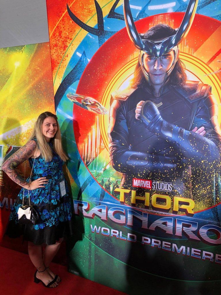 Mama's Geeky Thor Ragnarok Premiere