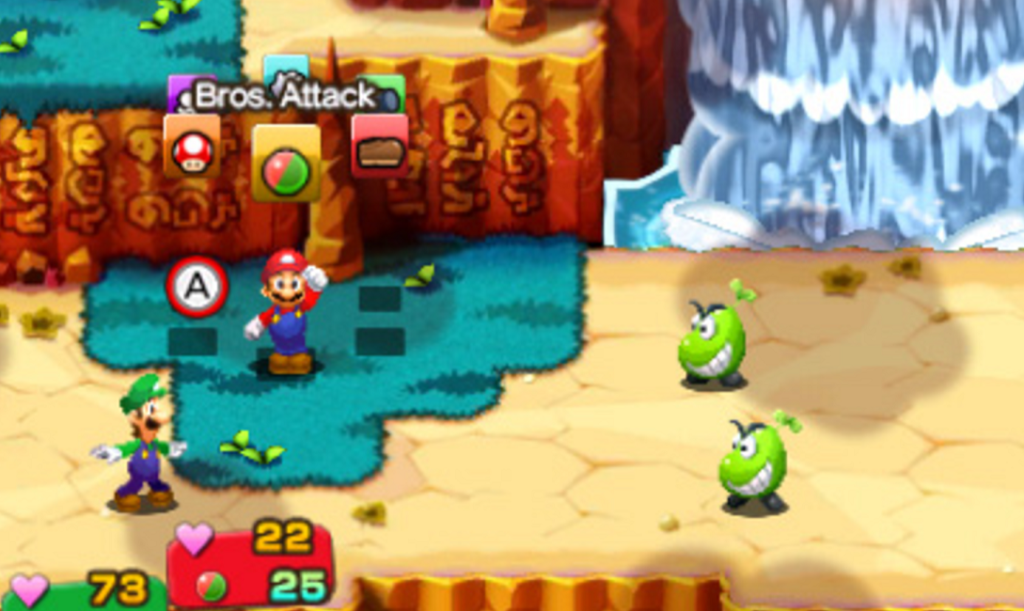 Mario & Lugi SuperStar Saga Still