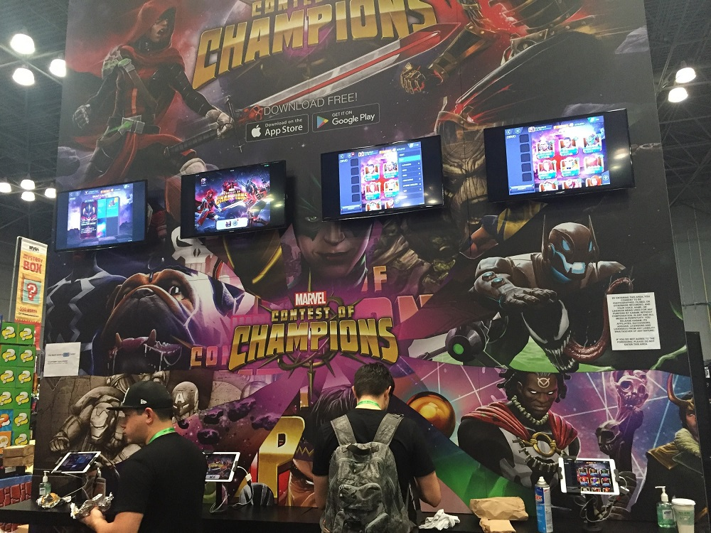 Marvel NYCC Contest of Champions