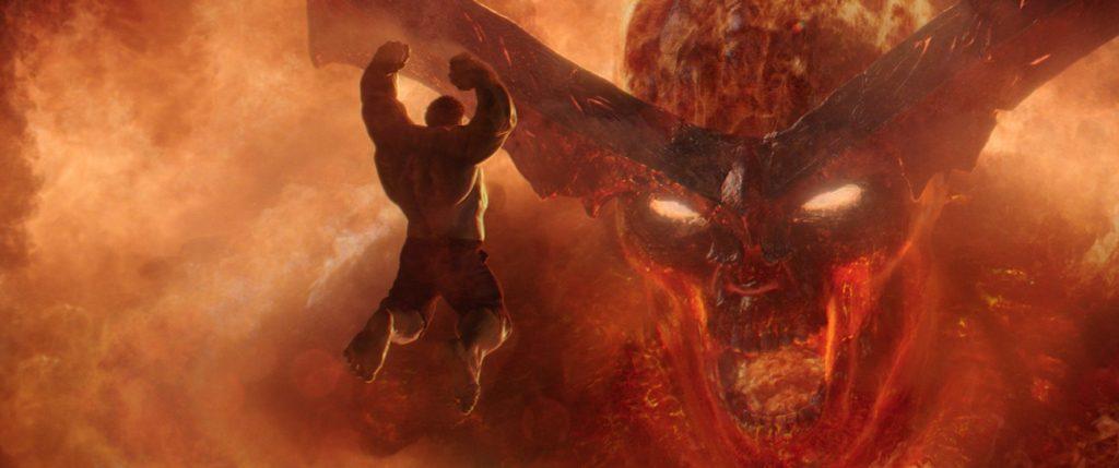 Thor Ragnarok Surtur and Hulk