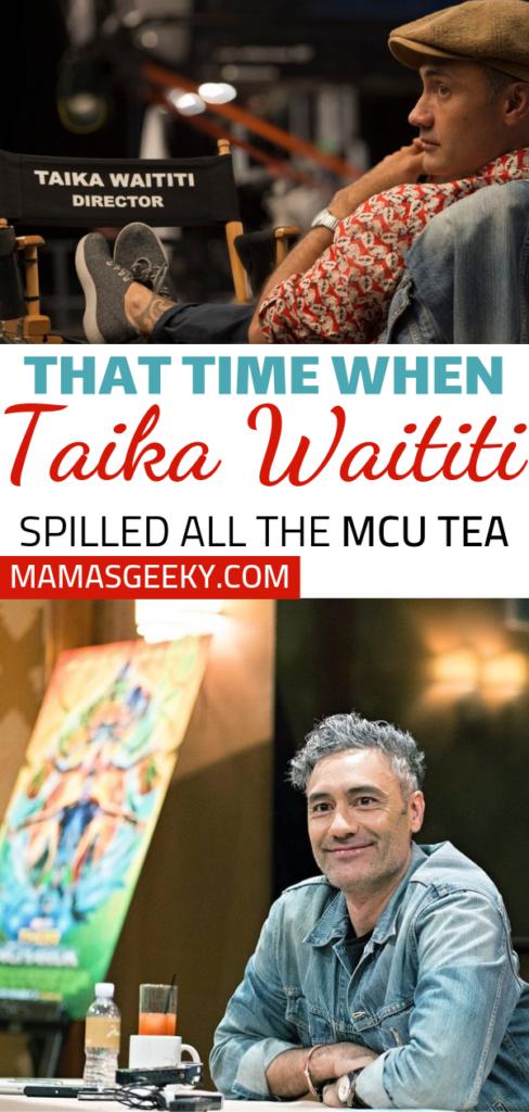 Thor Ragnarok Taika Waititi Interview